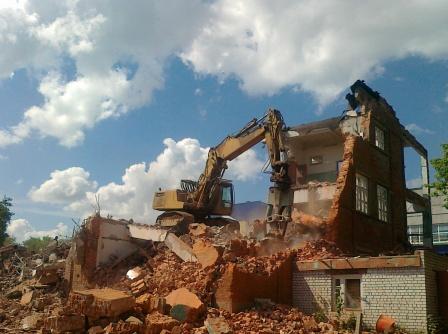 Демонтажные работы, промышленный демонтаж