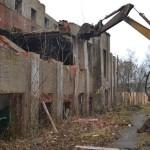 Демонтаж здания кинотеатра